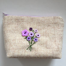 Load image into Gallery viewer, Bouquet Notions Pouch( lilac)