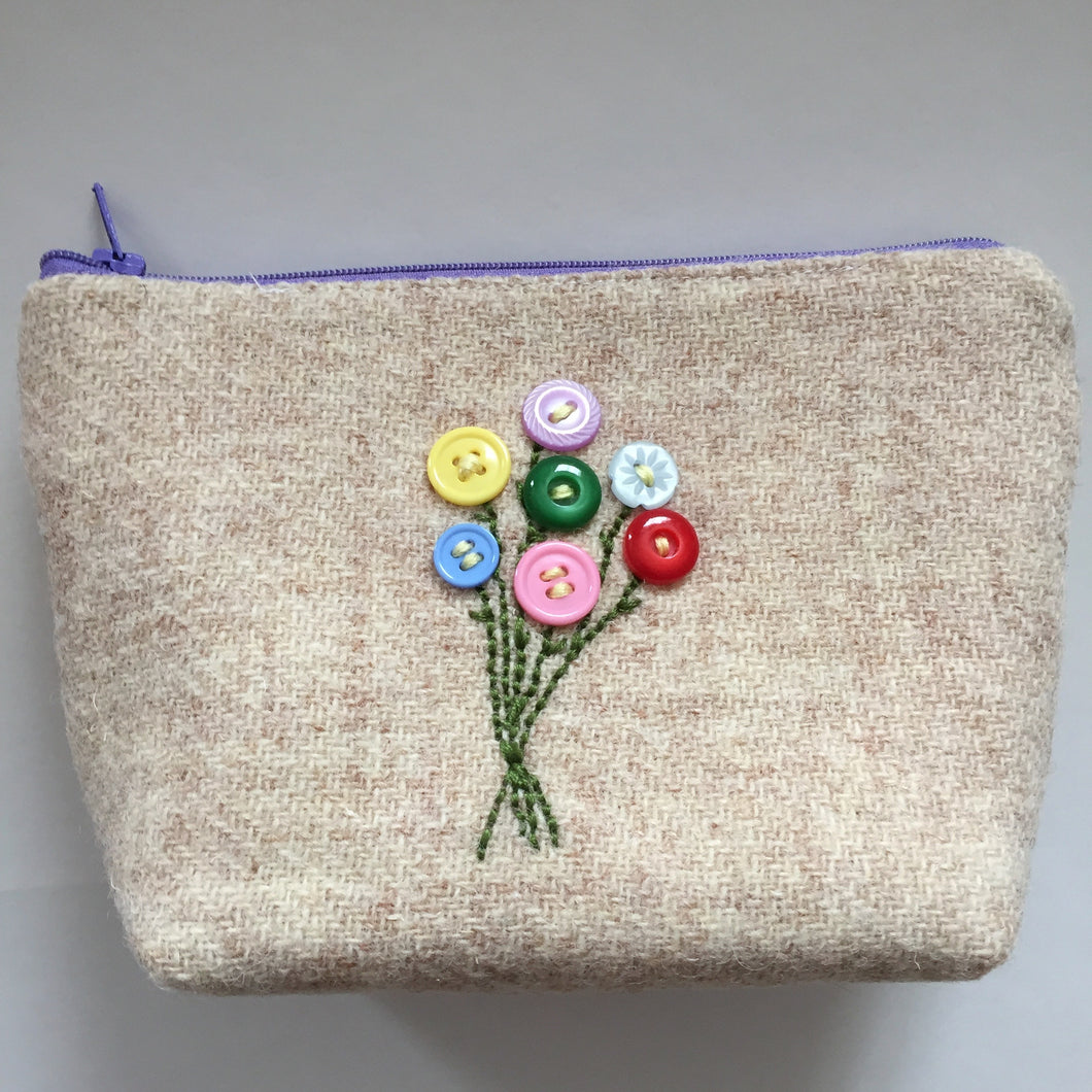 Bouquet Notions Pouch( multi)