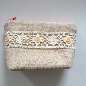 Bouquet Notions Pouch( lace)