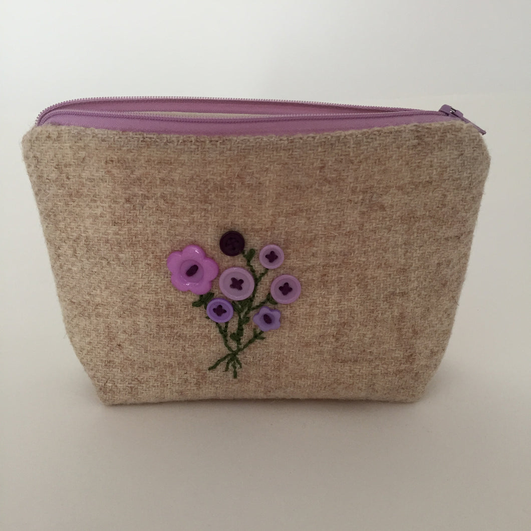 Bouquet Notions Pouch( lilac)