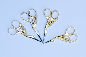 Stork Embroidery Scissors.