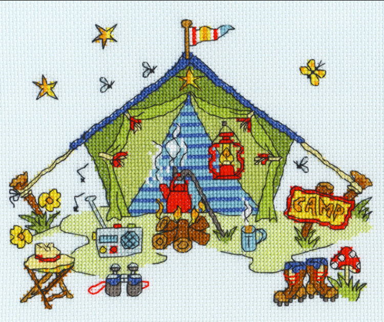 Sew Dinky Tent