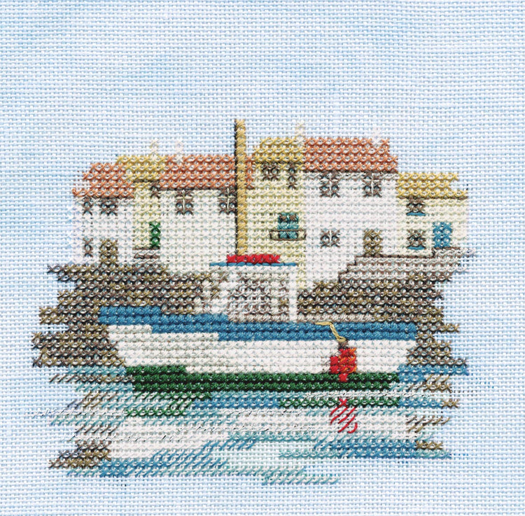 Harbour on Linen