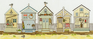 New England Homes. Beach huts