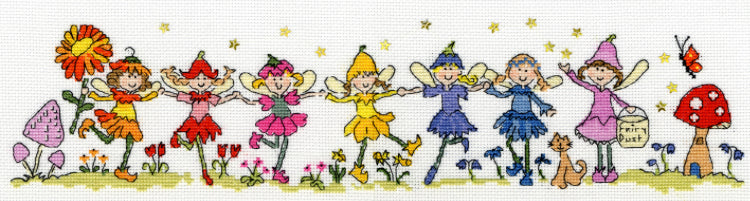 Row of Fairies