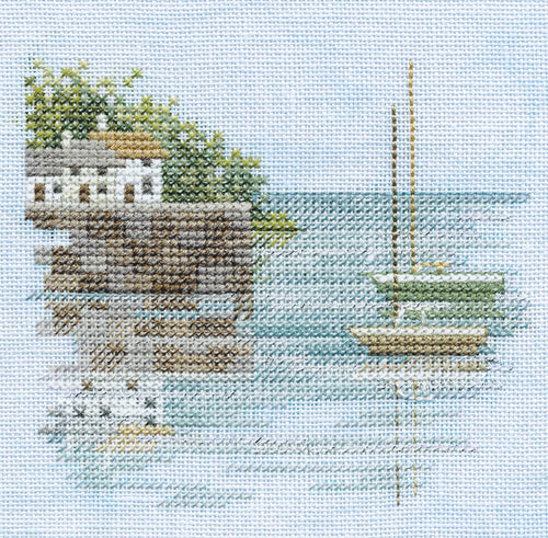 Quayside on Linen