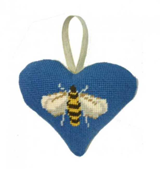 Bee  Lavender Heart