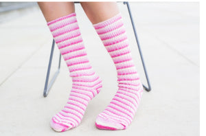 Suffolk Socks Pink Flamingo