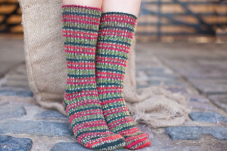 Suffolk Socks Holly Berry