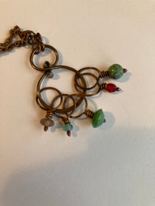 Feral Knitting stitch Marker necklaces.