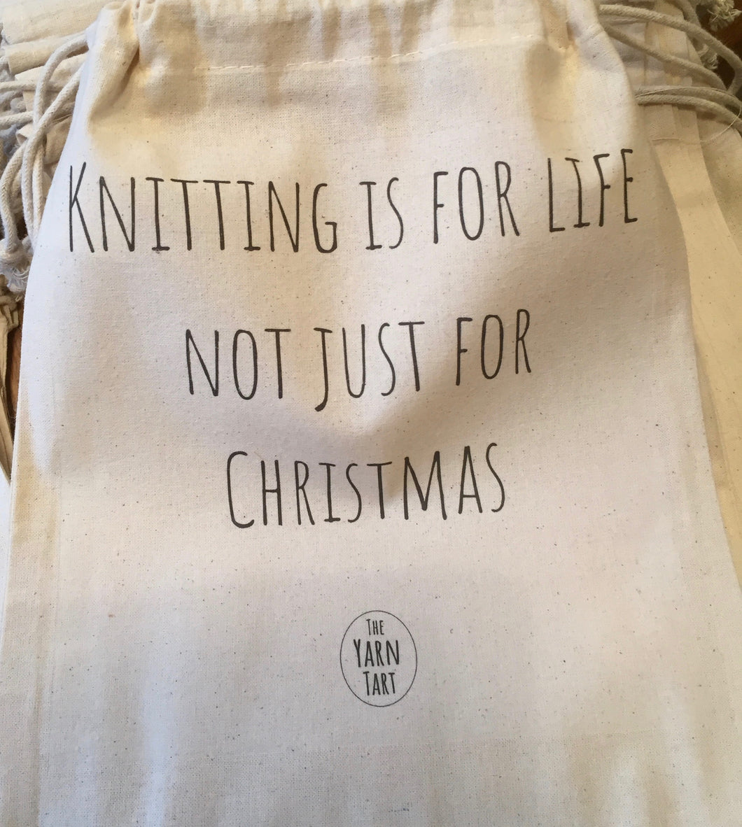 Knitting is for Life not just for christmas