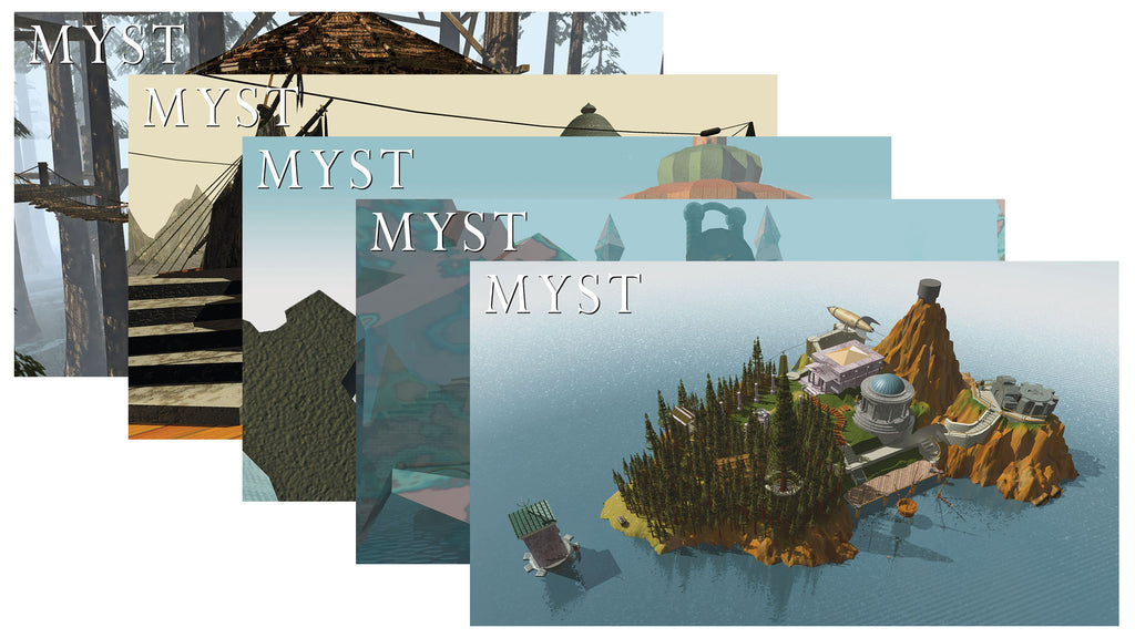 Myst Desktop Background Pack