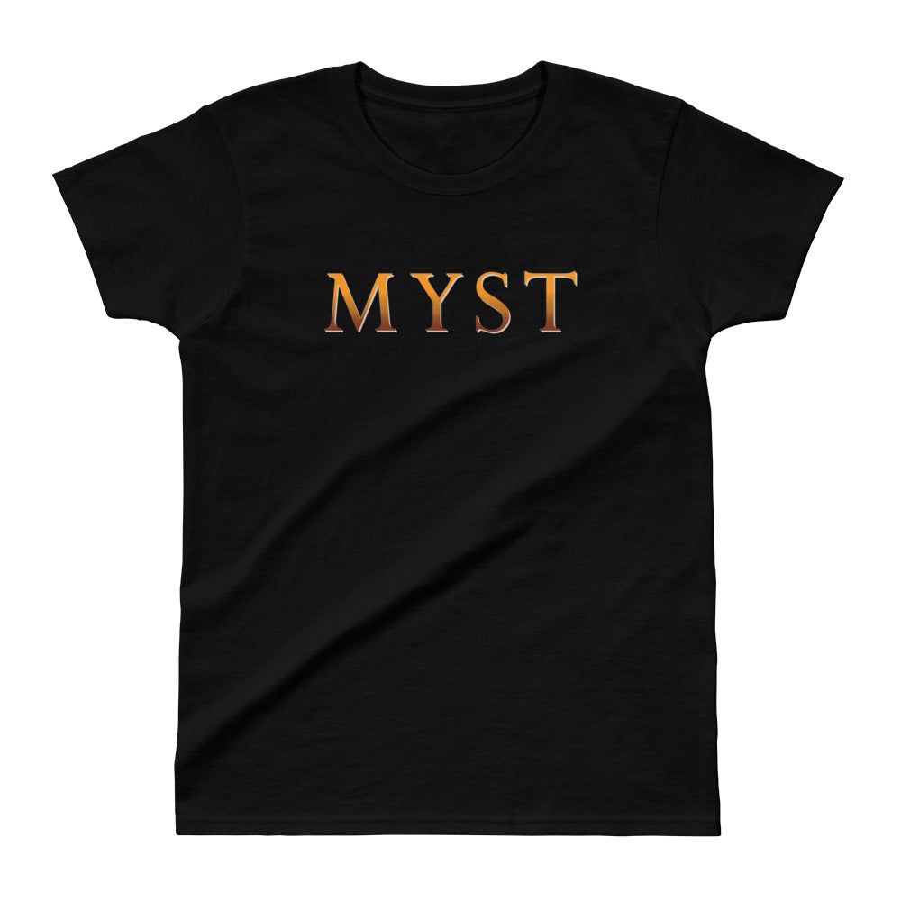 Myst Iconic Logo Shirt - Fitted, Dark