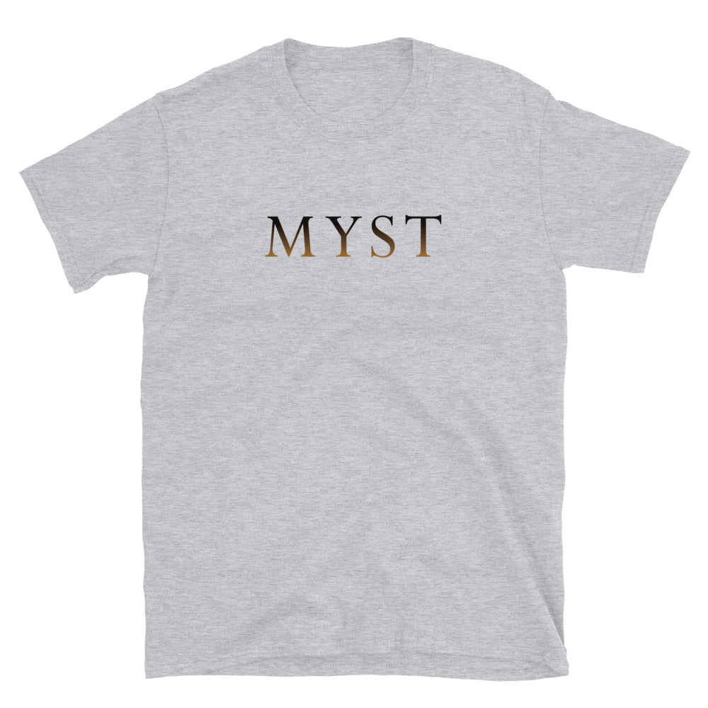 Myst Iconic Logo Shirt - Straight-Cut, Light