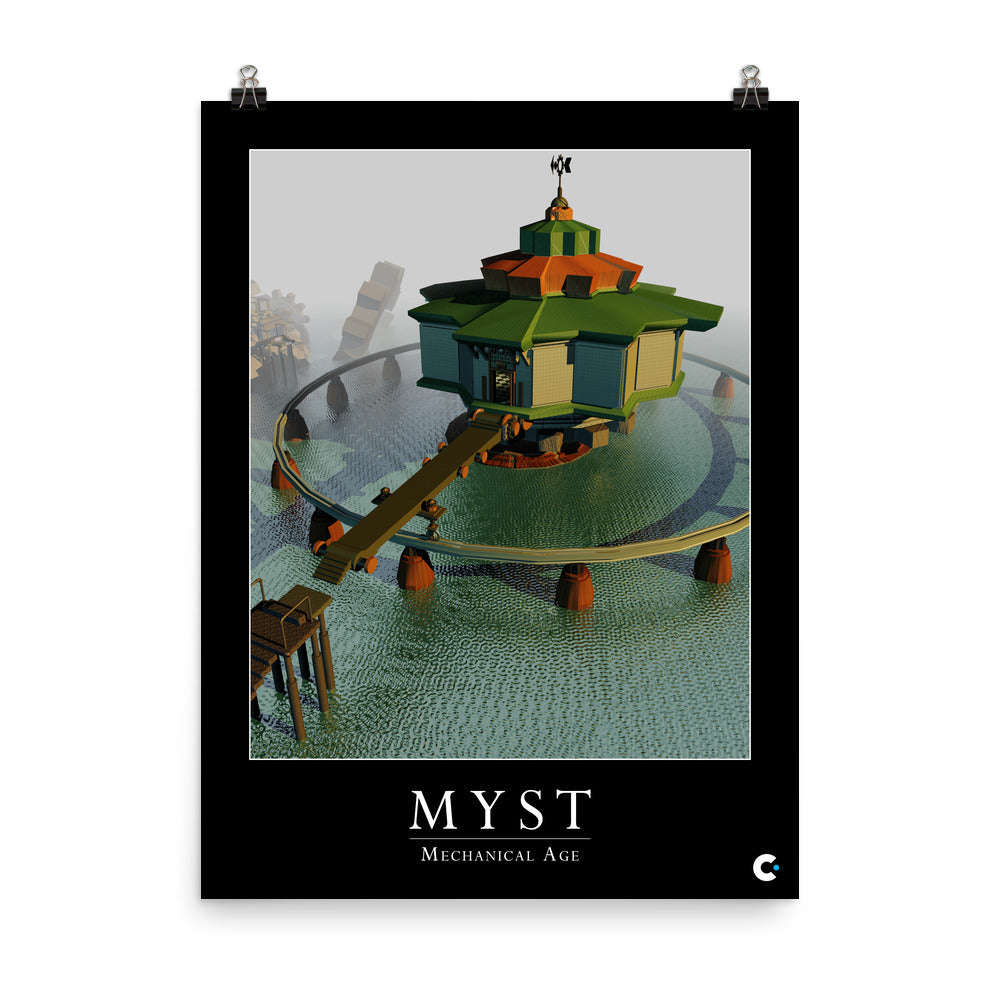 Myst - Mechanical Age Iconic Poster