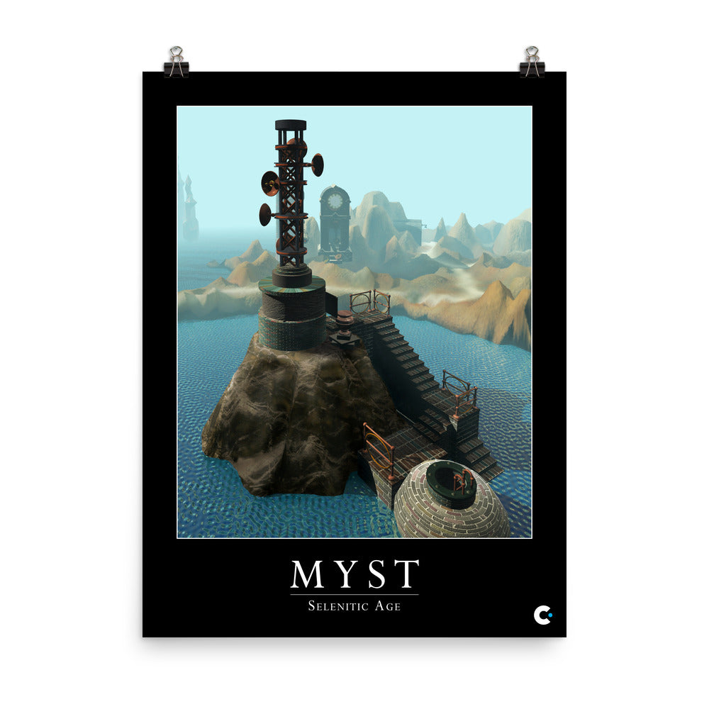 Myst - Selenitic Age Iconic Poster