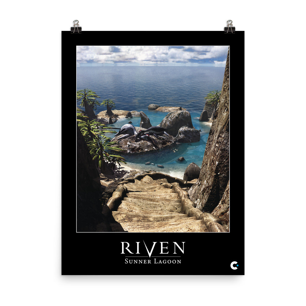 Riven - Sunner Lagoon Iconic Poster