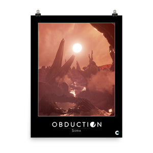 Obduction - Soria Poster