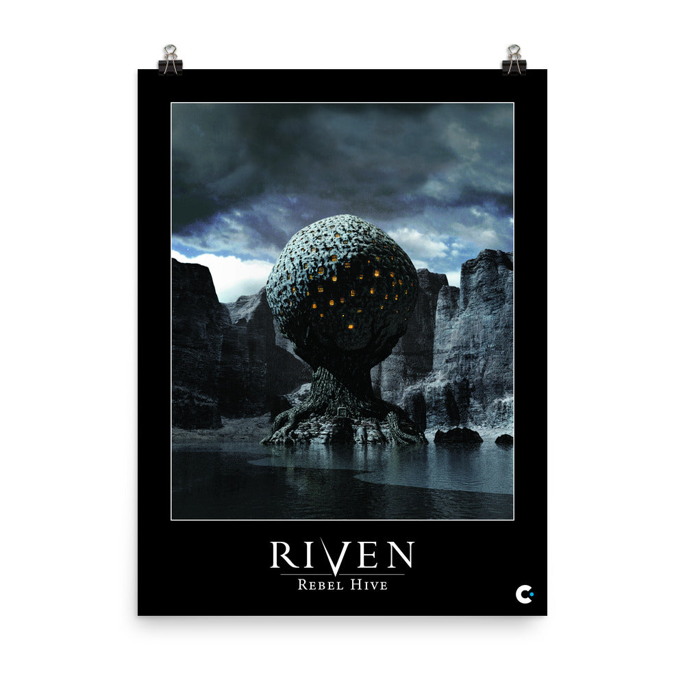 Riven - Rebel Hive Iconic Poster