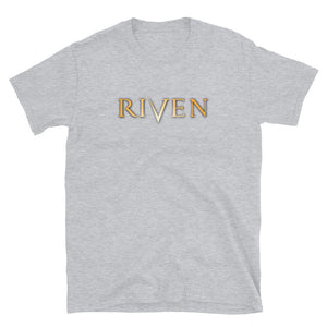 Riven Iconic Logo Shirt - Straight-Cut, Light
