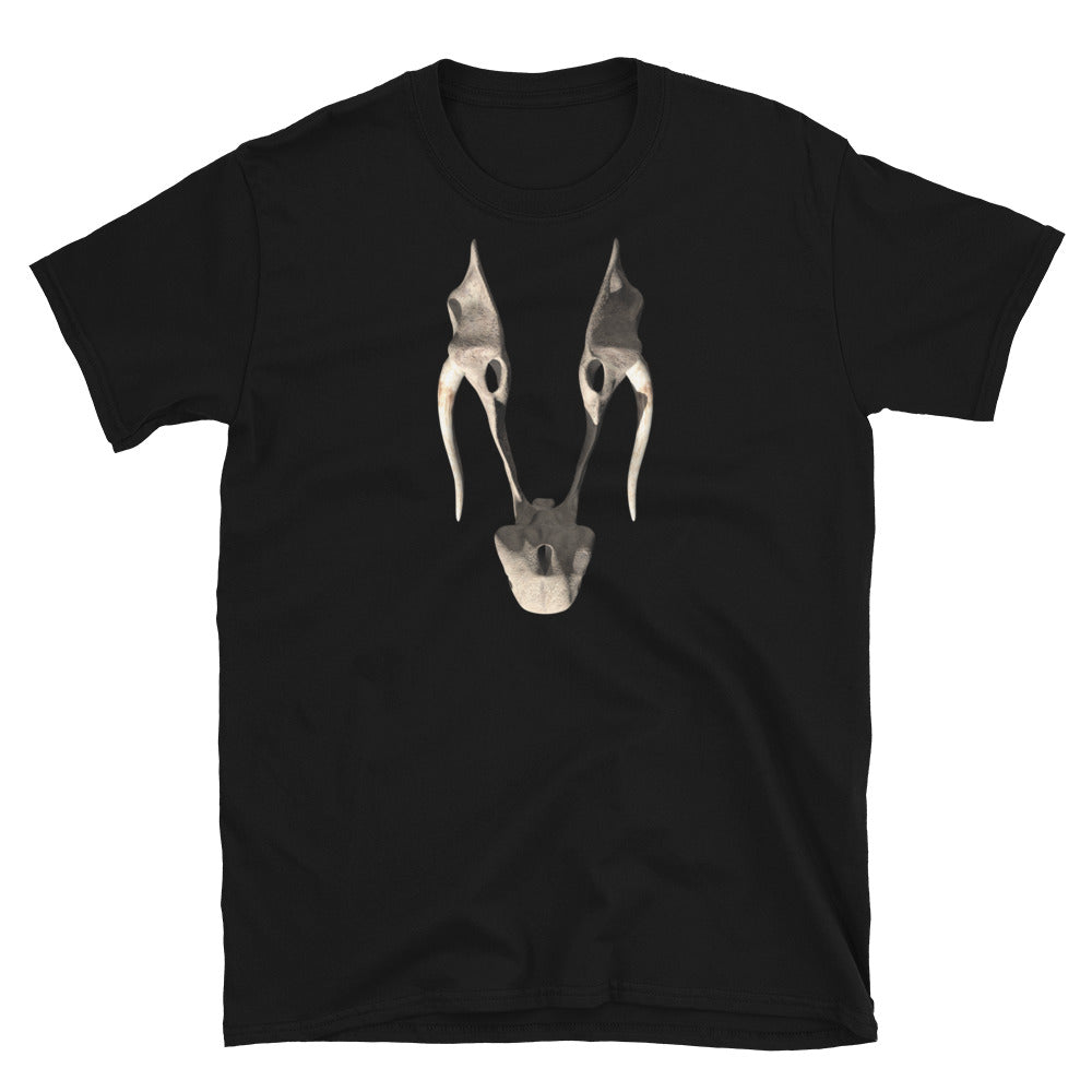 Riven Wahrk Skull Iconic Shirt - Straight-Cut, Dark