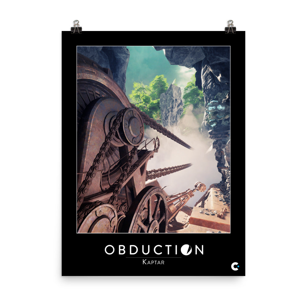 Obduction - Kaptar Poster