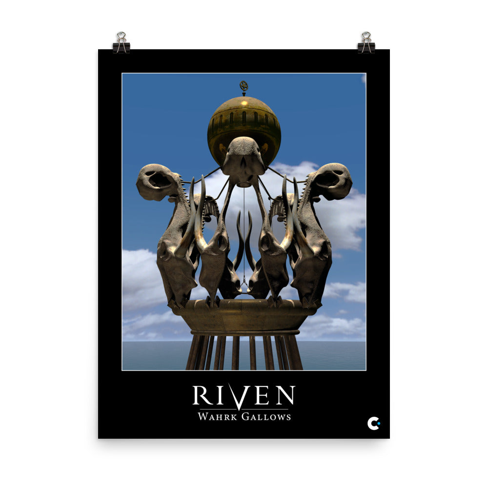Riven - Wahrk Gallows Iconic Poster