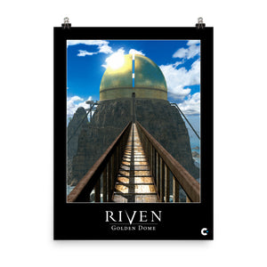 Riven - Golden Dome Iconic Poster
