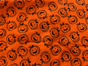 Custom Cloth Face Mask - Jack o' Lanterns