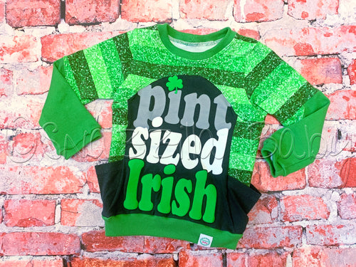 2T Upcycle St. Patrick's Day Top