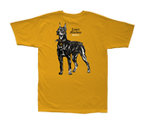 Rude Dogz Stock Tee Gold