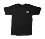Never Sleeping Stock Tee Black