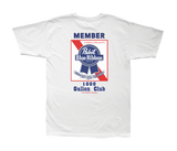 LMC x PBR Members Only Stock Tee White