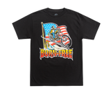 Born-Free Chopper Flag Tee Black
