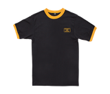 Destroy Box Ringer Tee Black/Gold