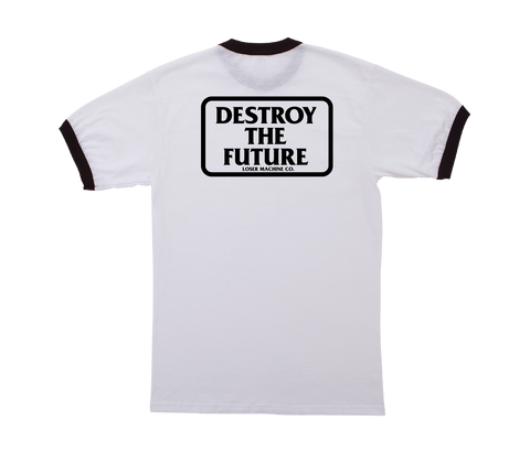 Destroy Box Ringer Tee