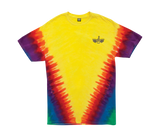 Trench Light Tie Dye Stock Tee Rainbow