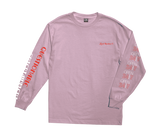 Questionable LS Stock Tee Pink