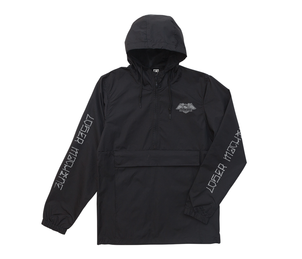 Alleyway Anorak Black