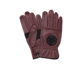 Death Grip Leather Gloves Ox Blood