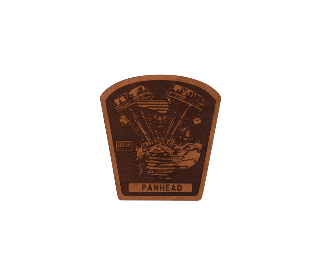 Panhead Leather Patch