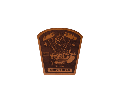 Shovelhead Leather Patch