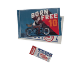 Born-Free 10 Poster/Ticket Combo