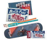 Born-Free 10 Adam Nickel Low Roller Deck Package