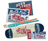 Born-Free 10 Harpoon Low Roller Deck Package