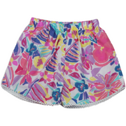 Emma Eyelet Short - Watercolor