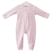 Pink Moon and Stars Onesie