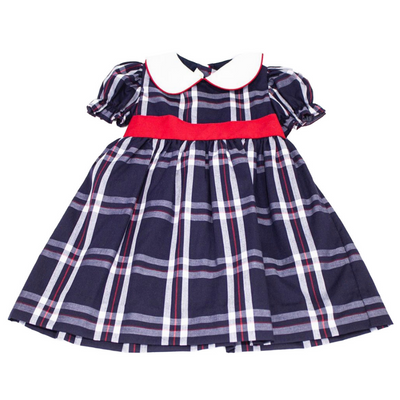 Scotland Woven Plaid Alyssa Dress