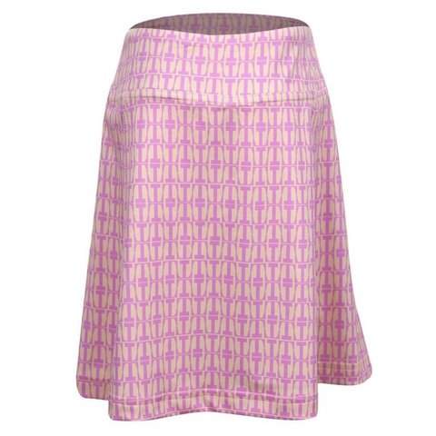 Krissy Golf & Tennis Skort with Back Pleats
