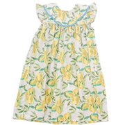 Lemon Bib Dress